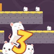 3 فئران