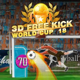 3D ركلة حرة كأس العالم 18