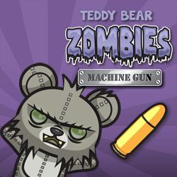تيدي الدب الكسالى مدفع رشاش