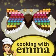 فراشة كعكة الشوكولاته - الطبخ مع إيما