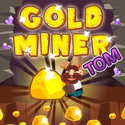 الذهب عامل منجم توم