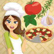 بيتزا مارغريتا - الطبخ مع إيما