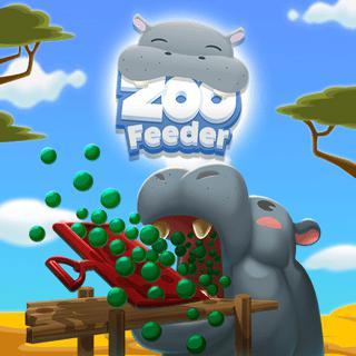 تغذية حديقة الحيوان