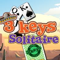 3 مفاتيح سوليتير